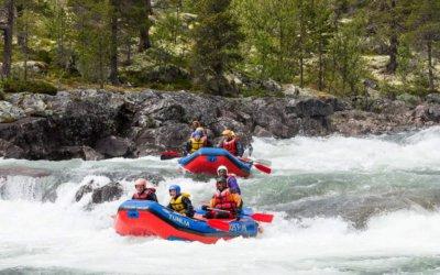 Rafting og elvesport