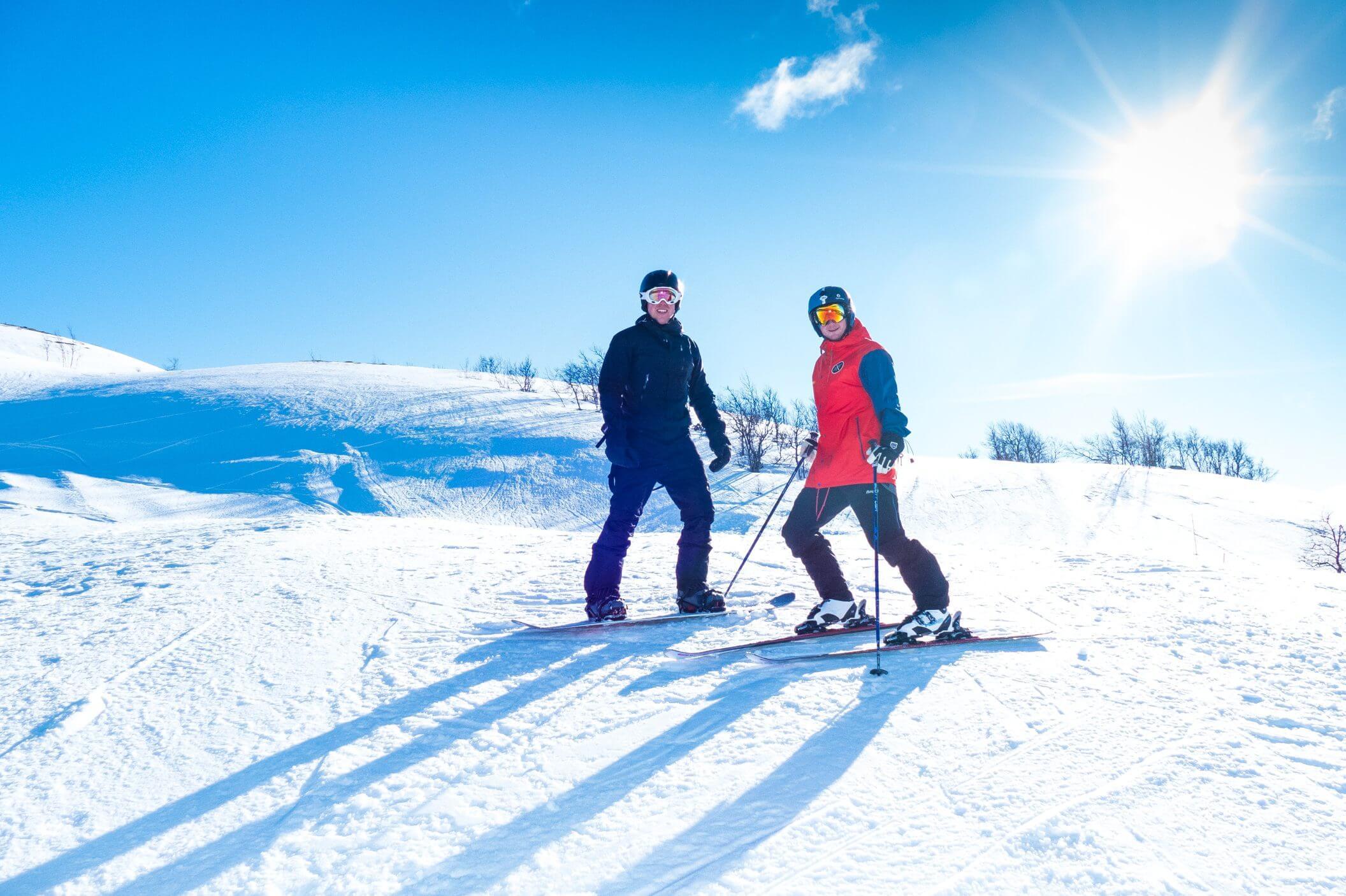 Skisenteret Dagali Fjellpark ligger snaut 3 kilometer fra Dagali Hotel