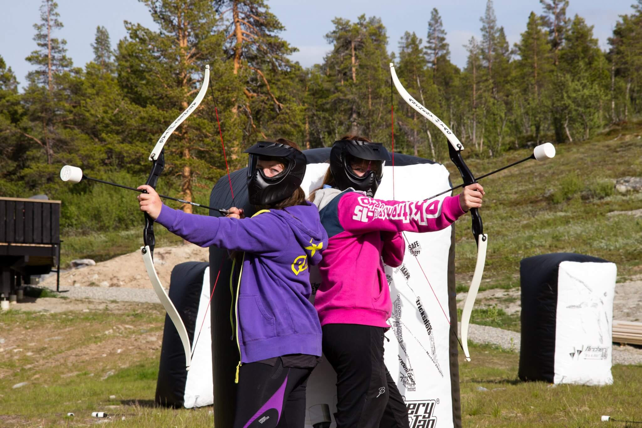 Archery Tag i Dagali Fjellpark