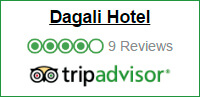 Tripadvisor review knapp for Dagali Hotel